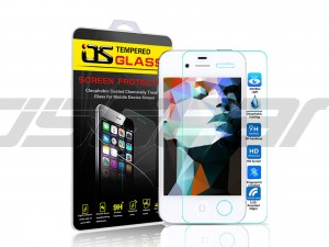 OS Anti Blu-RayTempered Glass for Apple iPhone 4 4s